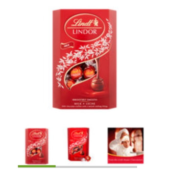 Lindt Lindor Milk Chocolate Carton