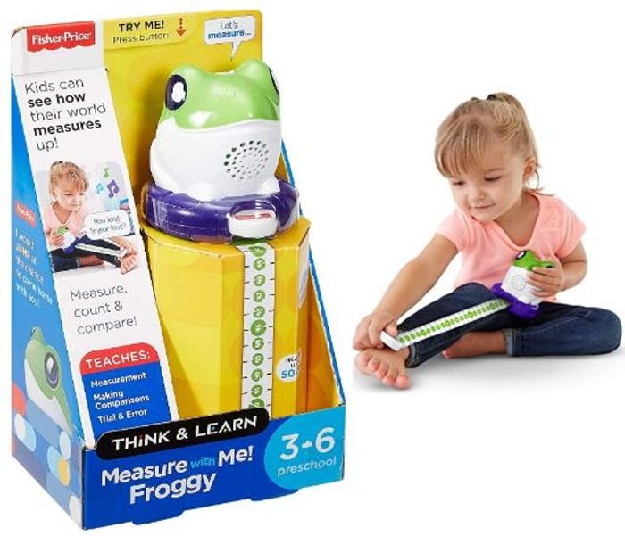 Fisher-Price Think and Learn - Measure with Me Froggy *4.6 STARS*