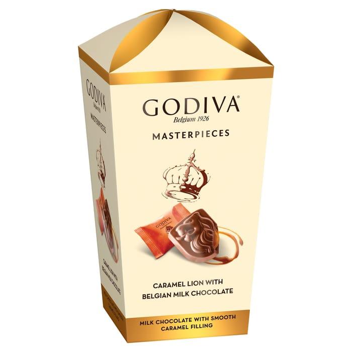 Godiva Milk Chocolate Caramel Assortment 193G