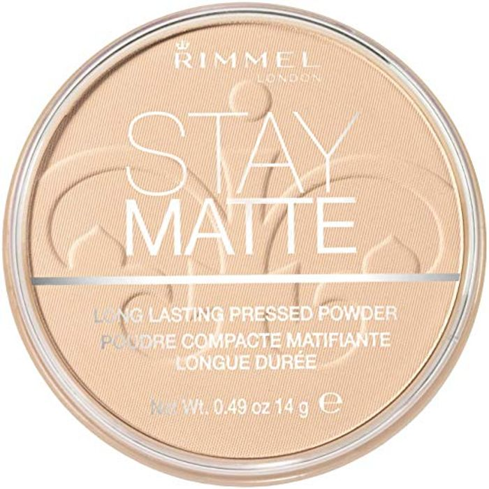 Rimmel Stay Matte - Long Lasting Pressed Powder, Transparent. Amazon Best Seller