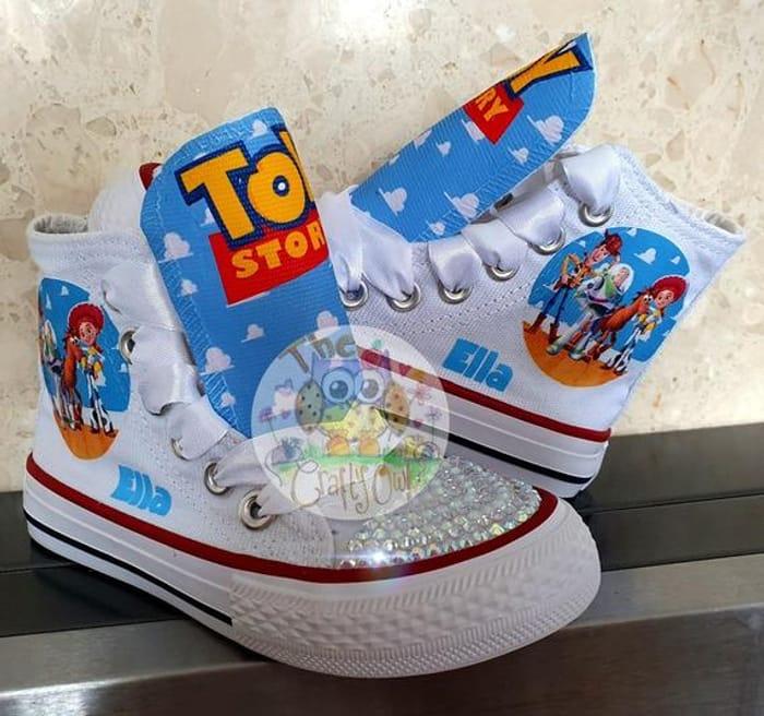 Custom Girly Toy Story Shoes at Etsy