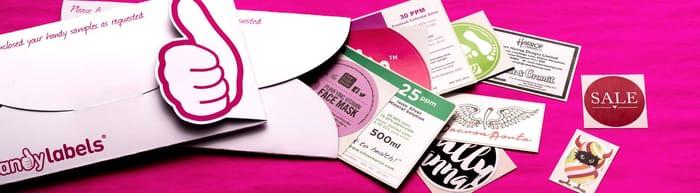 Free Handy Brand Label Samples