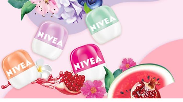 Free NIVEA Lip Pop Ball Lip Balms and Nivea Men Shave Gel - Home Tester Club