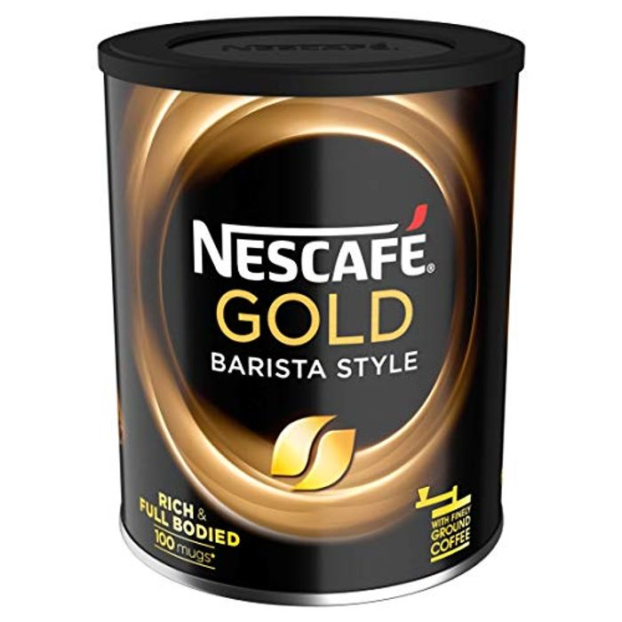 Best Price! Nescafe Gold Blend Barista Style Instant Coffee Tin, 180 G