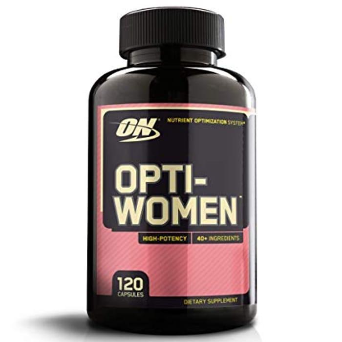 Optimum Nutrition Opti-Women Multi Vitamin 120 Capsules - 2 for 99p