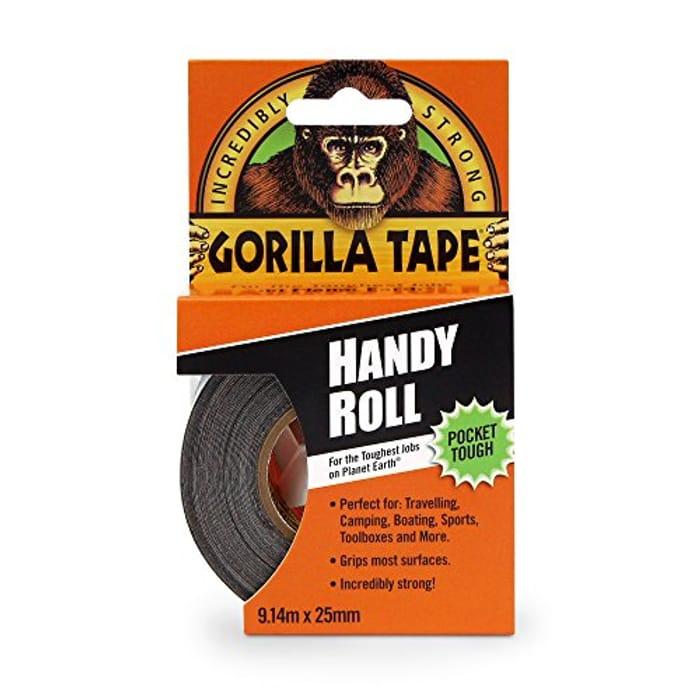 Gorilla Duct Tape Black 9.14 M, Black [Energy Class A]