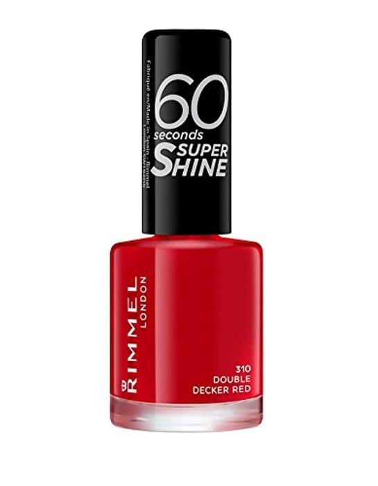 Cheap Rimmel 60 Seconds Super Shine Nail Polish - 8 Ml, Only £2.54!