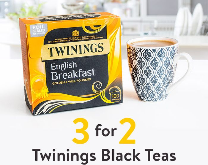 Twinings Tea - 3 for 2 Twinings Black Teas