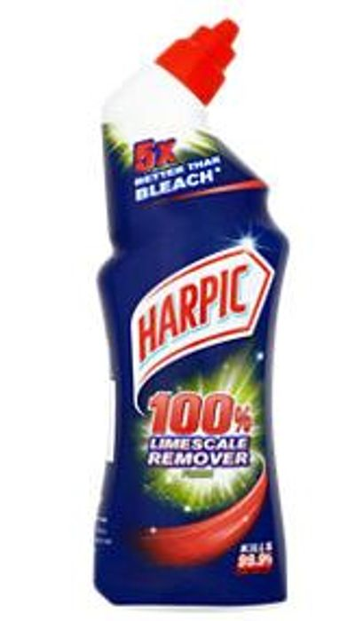 Harpic 100% Limescale Remover Toilet Cleaner Gel, Fresh Scent