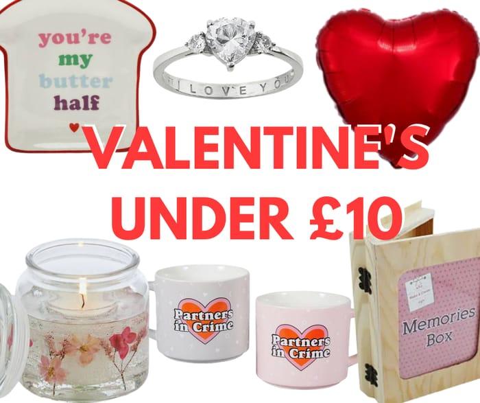Valentines Day Gifts Under £10!