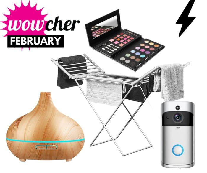 Wowcher - This Week's Top Deals: WiFi Doorbell, Velvet Beds, Airers & Spa Days