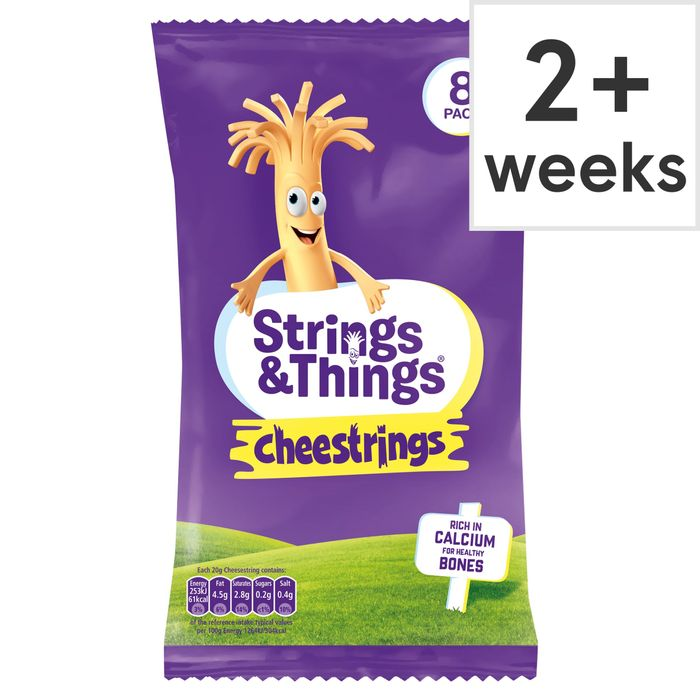 Cheestrings 8 Pack - HALF PRICE