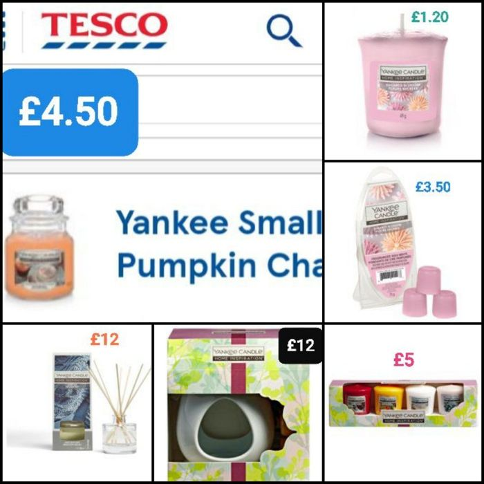 Various YANKEE CANDLES (35 in Total) from £1.50 - £14.