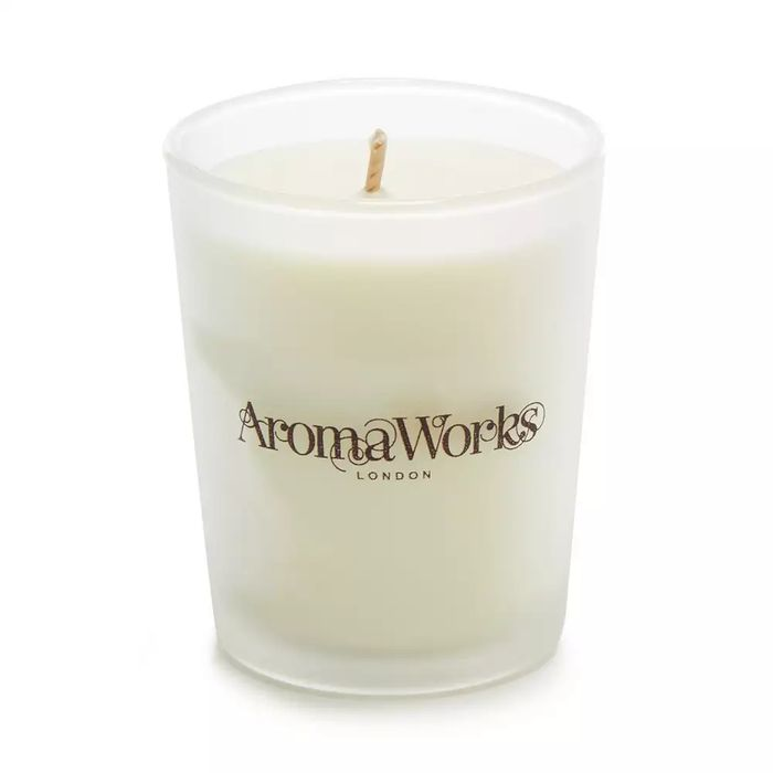 Aromaworks Mini Lavender/Sweet Orange Scented Candle - save £1