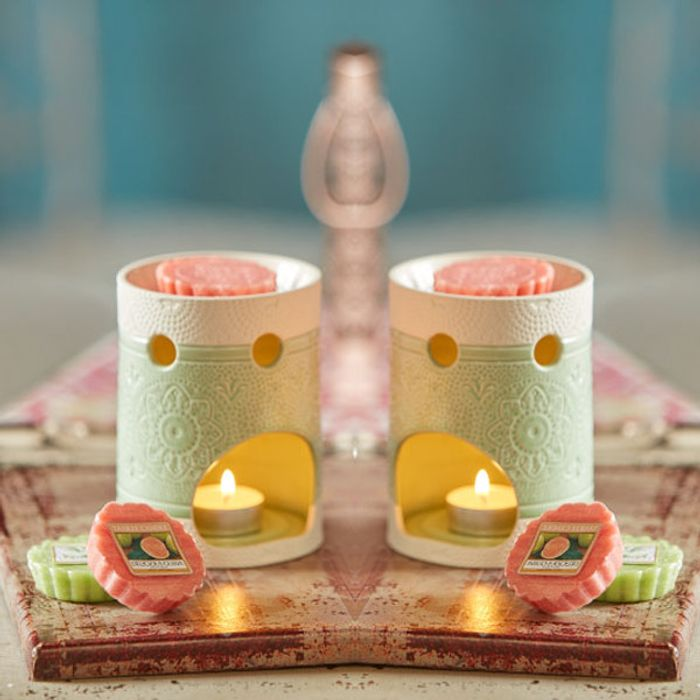 Cheap 2 X Yankee Candle Warmer Burners + 4 Wax Melts on Sale From £30 to £10