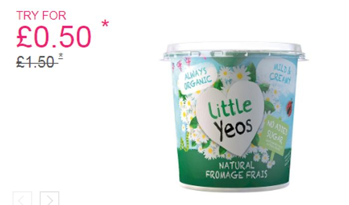 Little Yeos Organic Fromage Frais