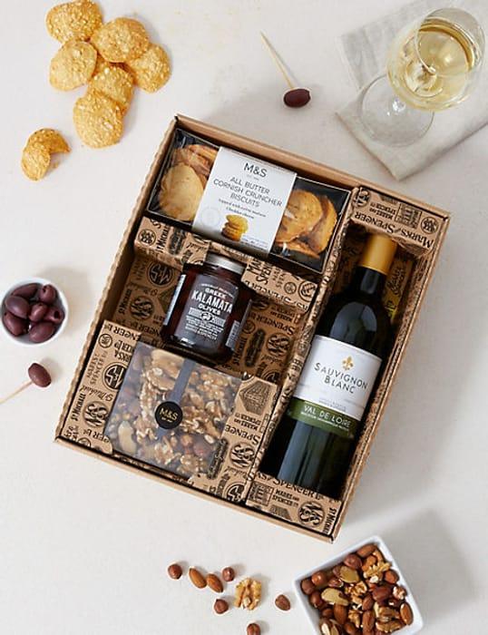Valentines Gift for Him - Sauvignon & Savouries
