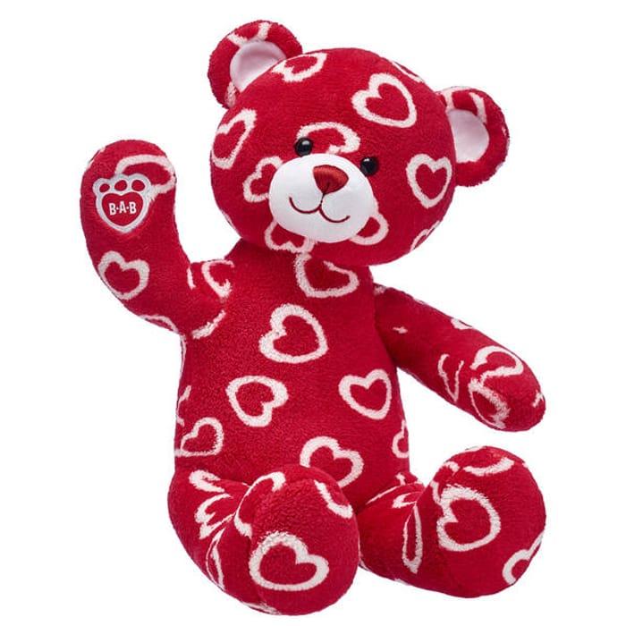 Build a Bear FURever Love Bear