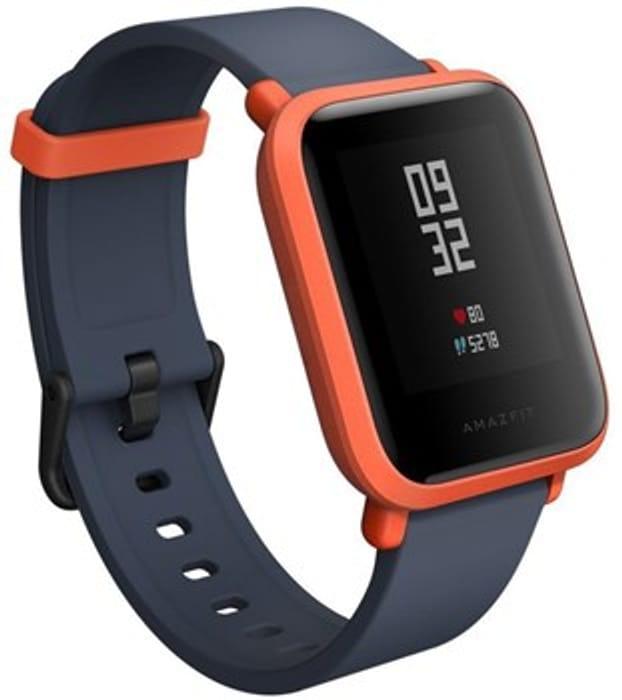 Xiaomi Amazfit Bip Smart Watch Cinnabar Red UK Stock