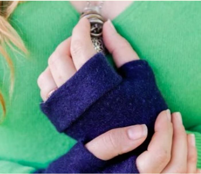Trade In Your Old Cashmere In Exchange For A FREE Pair Of Gloves Just Pay P&P