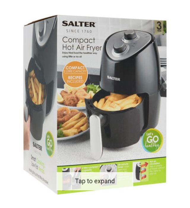 Cheap Salter Compact Air Fryer on Sale From £79.99 to £34.99