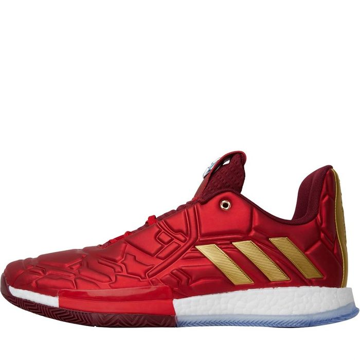*SAVE £65* Marvel Mens Harden Vol. 3 Avengers Pack Iron Man Basketball Shoes
