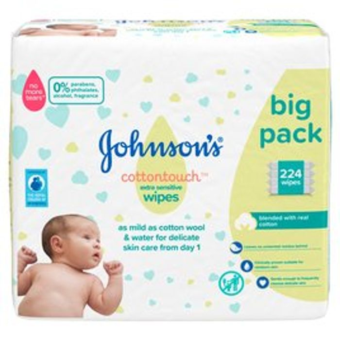 Johnsons Baby Wipes