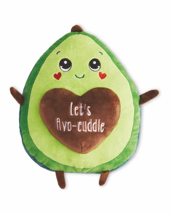 Valentine's Avocado Soft Toy