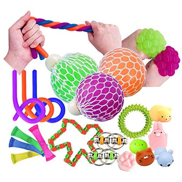 Sensory / Fidget Toys (Pack of 20)