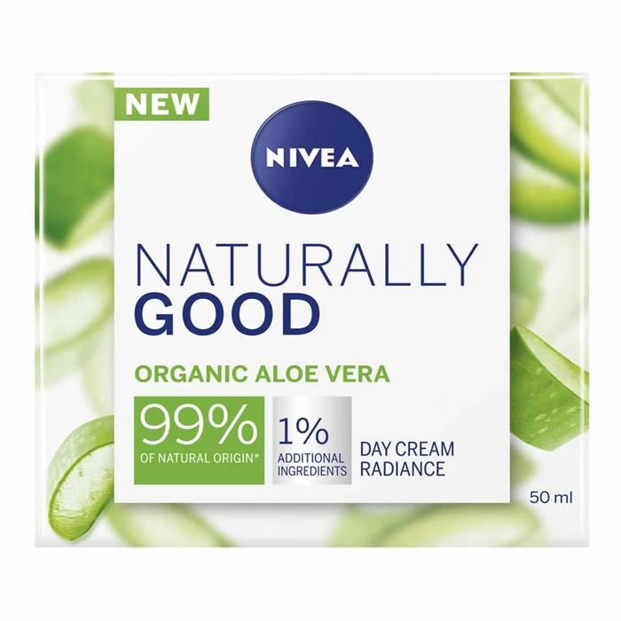 Nivea Naturally Good Aloe Vera Day Cream 50ml
