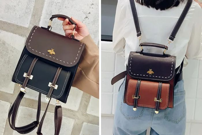 Vintage Style PU Leather Backpack - 7 Colours!