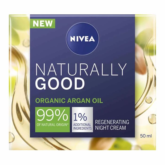 Nivea Naturally Good Argan Night Cream 50ml