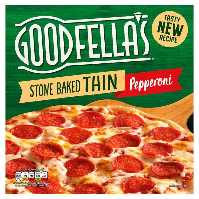 Goodfella's Stone Baked Thin Pepperoni 340g