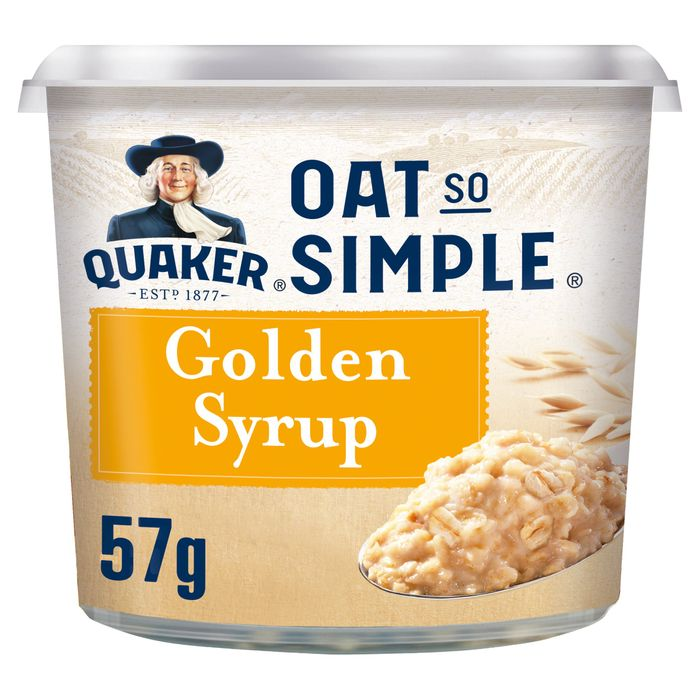 Quaker Oat so Simple Golden Syrup Porridge 57G