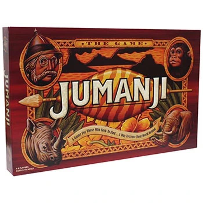 Jumanji Board Game with Discount Code