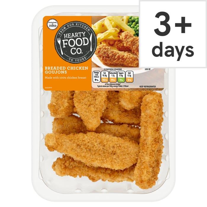 Breaded Chicken Goujons 270G