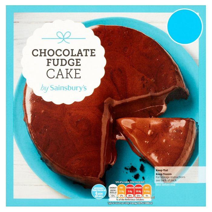 Sainsbury's Chocolate Fudge Cake