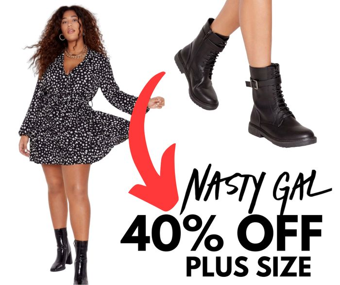 PLUS SIZE Clothes: 40% off Everything at Nasty Gal!