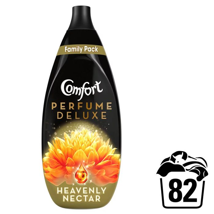 Comfort Perfume Deluxe Heavenly Nectar Fabric Conditioner 82 Washes 1.23L