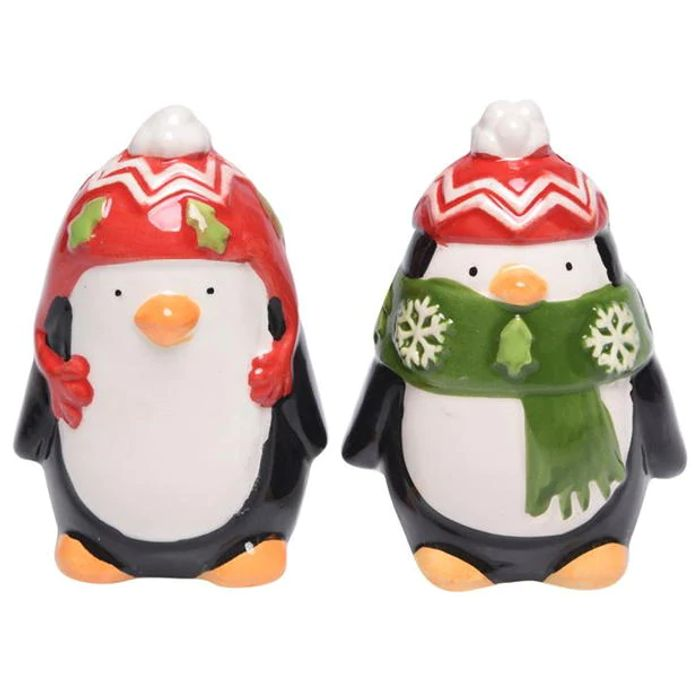 THE SPIRIT of CHRISTMAS Salt Pepp Penguin save £2.99