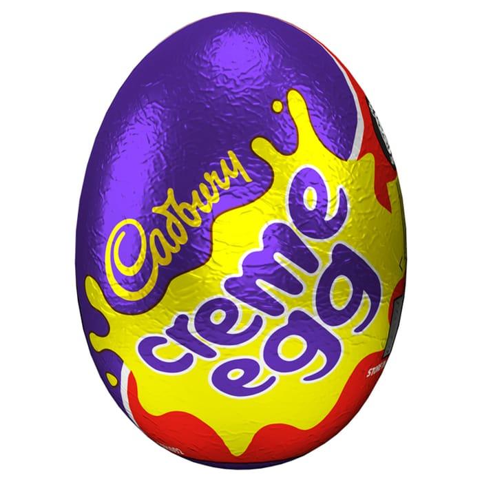 3 X Cadbury Creme Egg 40G or Caremel