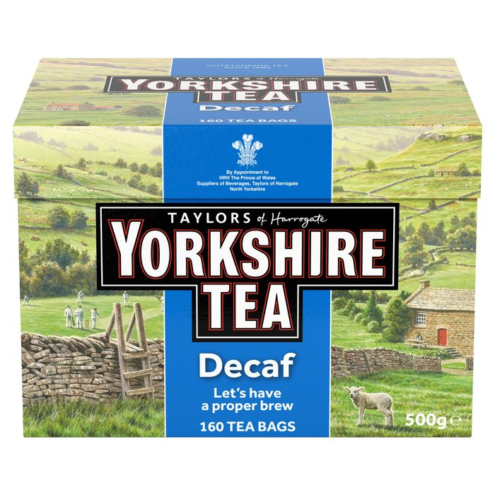 Yorkshire Decaf Tea 28%off at Tesco