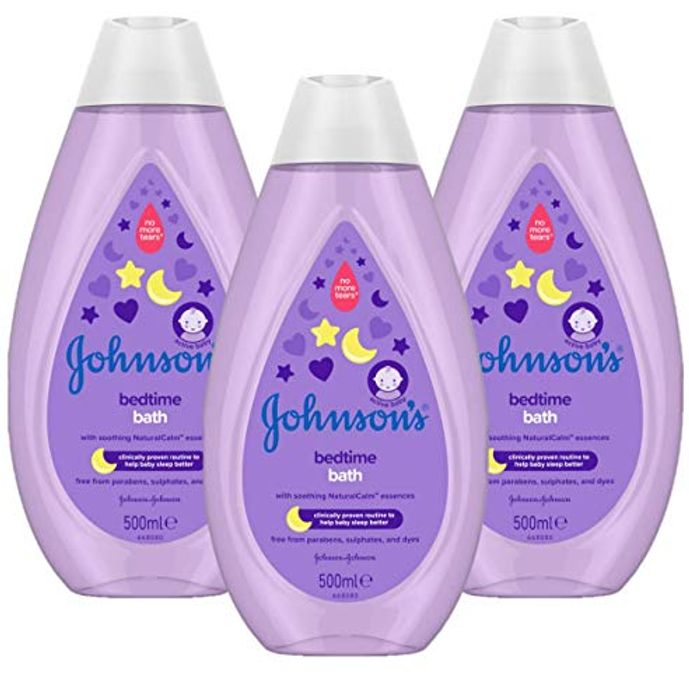 JOHNSON'S Bedtime Bath Enriched with Soothing NaturalCalm Essences 3 X 500ml