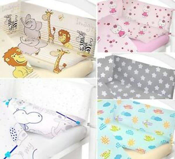 Best Price! Baby Bedding Set 2 Pcs Cot Bed Quilt Duvet Pillow Case Cover Nursery