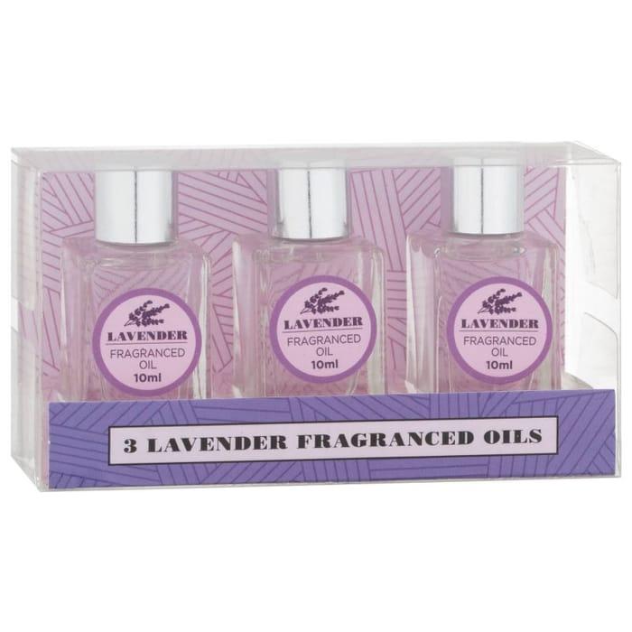 Essence Fragranced Oils 3pk - Lavender