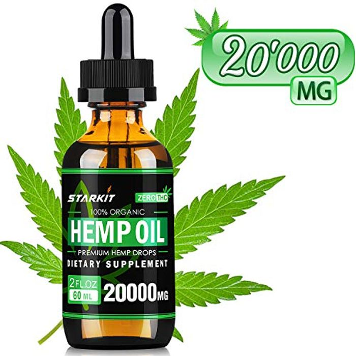 Hemp Oil Extract Drops 20000mg