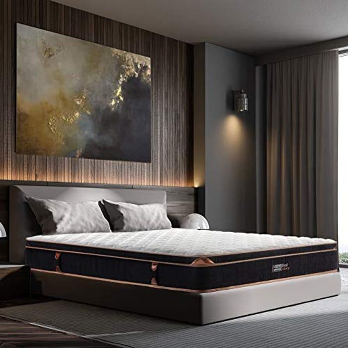 BedStory 11 Inch Spring Mattress Single 90x190x28cm-50% OFF