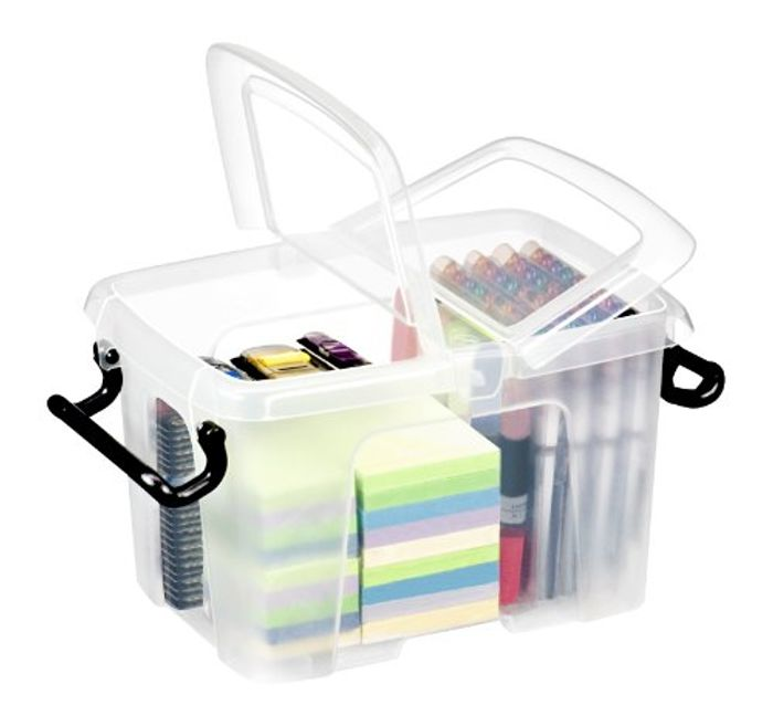 Smart Box with Lid, 6 L, Clear