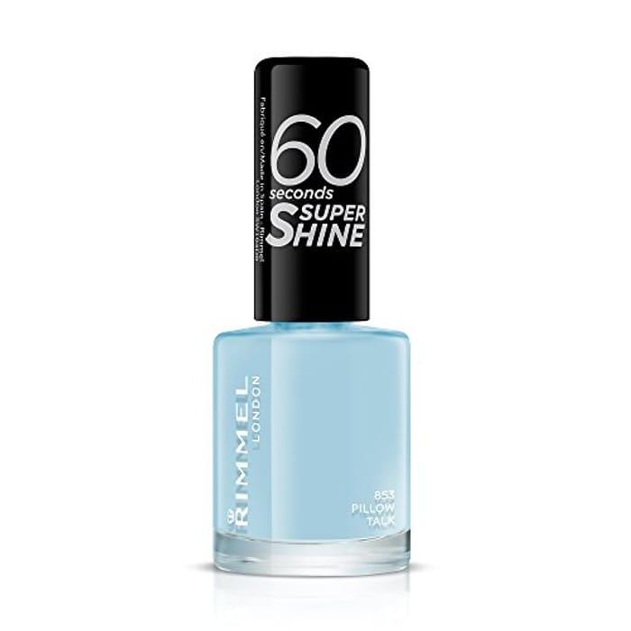 Rimmel 60 Seconds Super Shine Nail Polish - 8 Ml, Pillow Talk