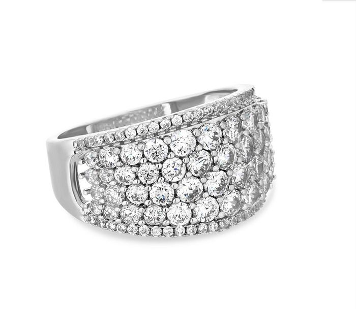Cheap Jon Richard - Statement Pave Crystal Ring, Only £6!